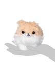 Amuse Tan Pomeranian Plush Keychain
