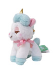 Amuse Unicorn Aqua Plush Keychain