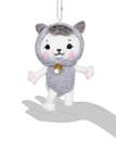 Kittygurumi Regina Sheep Plush Stuffed Keychain