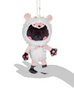 Kittygurumi Gertrude Hedgehog Plush Stuffed Keychain