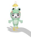 Kittygurumi Doris Frog Plush Stuffed Keychain