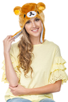 Rilakkuma Big Face Soft Beanie Hat