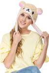 Korilakkuma Big Face Soft Beanie Hat
