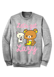 Let's Get Lazy Sweater