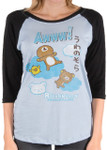 Nap on a cloud Long Sleeved Rilakkuma Shirt
