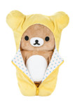 Rilakkuma Yellow Sleeping Bag Plush Stuffed Animal