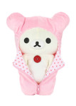 Korilakkuma Pink Sleeping Bag Plush Stuffed Animal