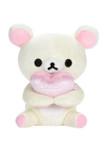 Korilakkuma Holding Heart Plush Stuffed Animal