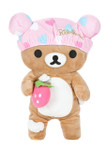 Rilakkuma Bath Time Shower Cap Plush Stuffed Animal