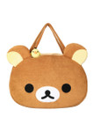 Rilakkuma Face Plush Purse