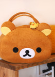 Lifestyle of Rilakkuma Face Plush Purse