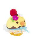 Kiiroitori by Rilakkuma Yellow Chick Cherry Cupcake Plushy Stuffed Animal Keychain
