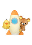Rilakkuma Kiiroitori Space Ship Rocket Plush Stuffed Animal