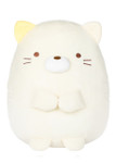 Neko White Cat Stuffed Plush Animal - Medium