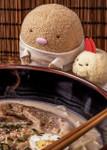 Tonkatsu in T-Shirt with Shrimp, lifestyle