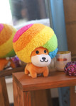 Afro Ken Rainbow Hair Plush