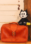 Felix The Cat with Bag of Tricks Medium Plush, lifestyle