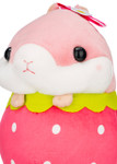 Amuse Korohamu Hamster in Strawberry Plush