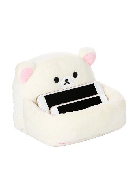 Korilakkuma™ Plush Sofa Holder for Mobile Phone Devices