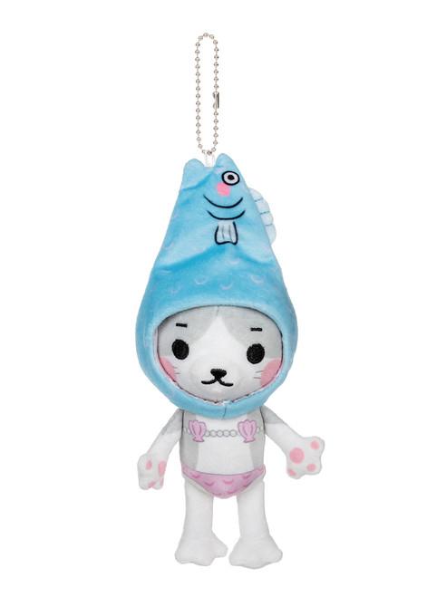 Kittygurumi Doris Mermaid Plush Stuffed Keychain