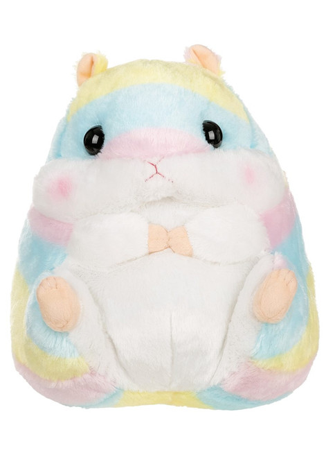 Amuse Rainbow Hamster Plush Stuffed Animal