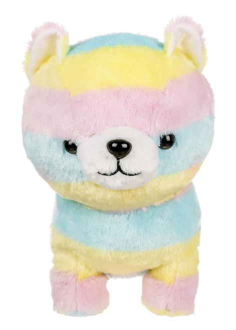 Amuse Rainbow Shiba Inu Plush Stuffed Animal