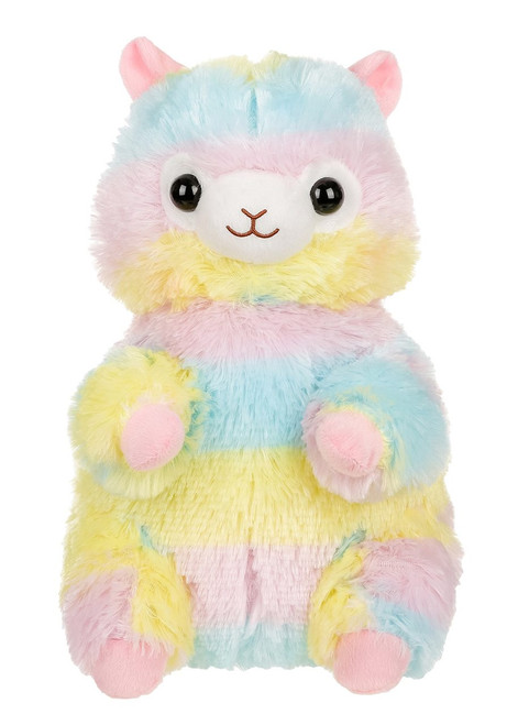 Amuse Rainbow Alpaca Plush Backpack