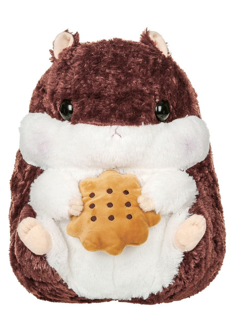 Amuse Hamster with Cookie Plush Stuffed Animal
