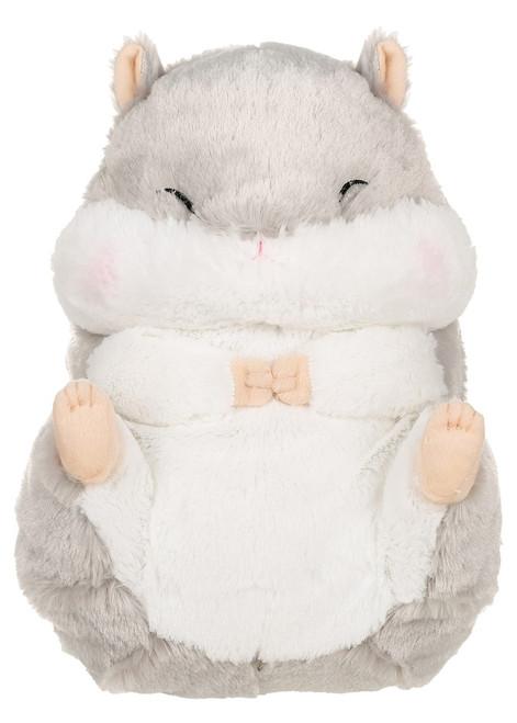 Amuse Grey Hamster Plush Backpack