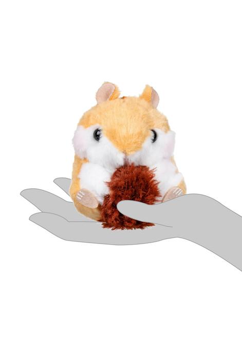 Amuse Chipmunk Plush Keychain