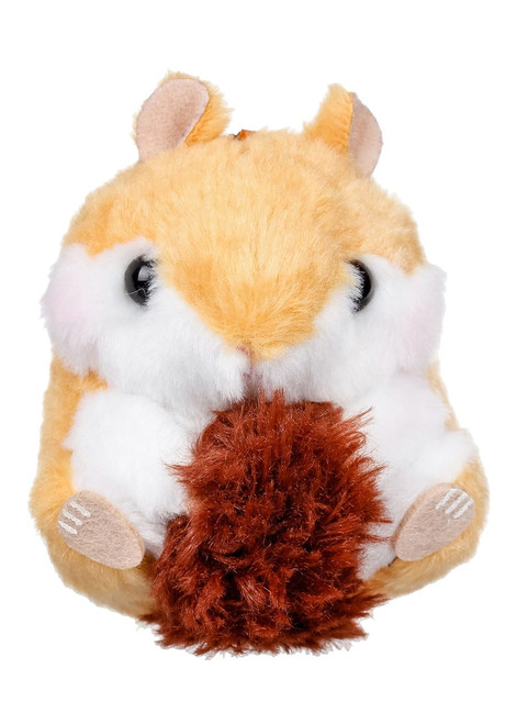 Amuse Chipmunk Plush Keychain