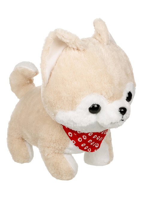 Amuse Large Cream Shiba Inu Plush Stuffed Animal