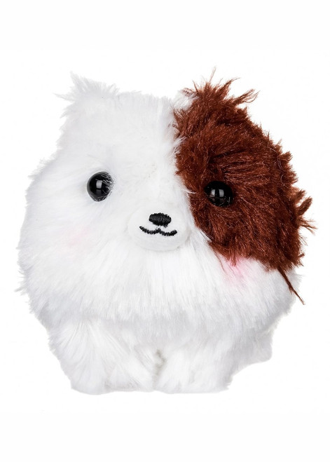 Amuse Brown Pomeranian Plush Keychain