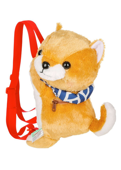 Amuse Gold Shiba Inu Plush Backpack