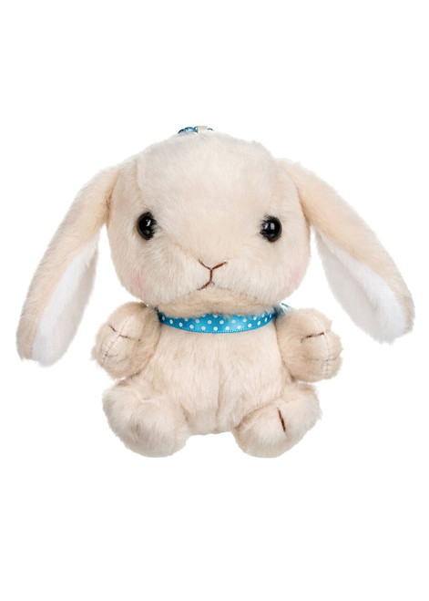 Amuse Tan Bunny Plush Keychain