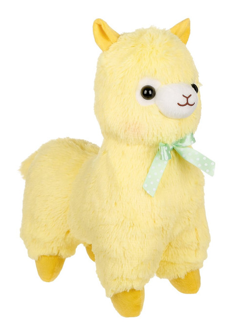 Amuse Yellow Alpaca Plush Stuffed Animal
