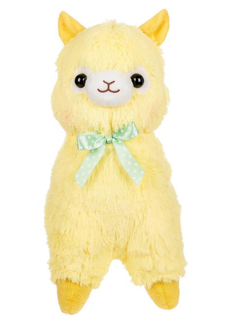 Amuse Yellow Alpaca Plush Stuffed Animal