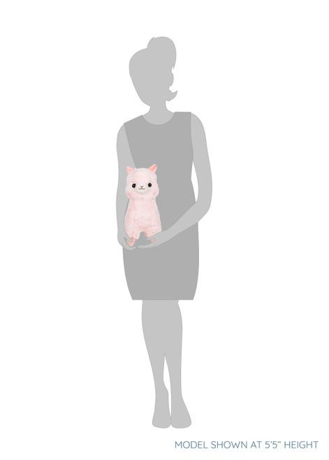 Amuse Alpacasso Pink Alpaca Plush