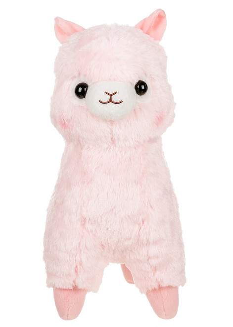 Amuse Pink Alpaca Plush Stuffed Animal