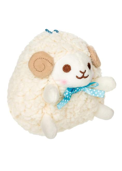 Amuse Yellow Sheep Plush Stuffed Keychain