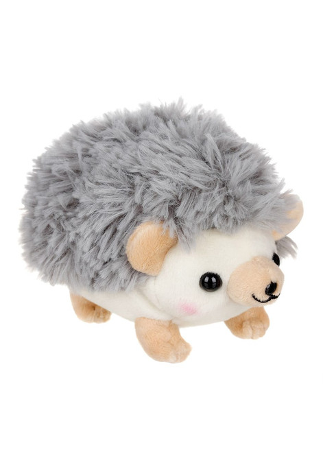 Amuse Hedgehog Grey Plush Keychain
