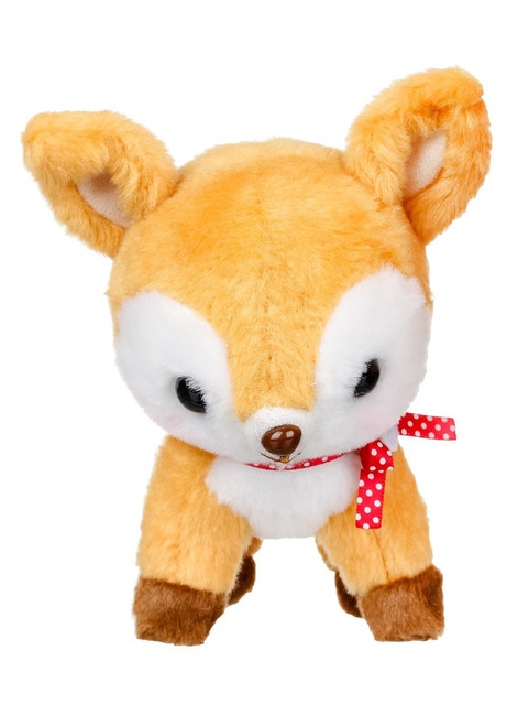 Amuse Brown Deer Plush Keychain