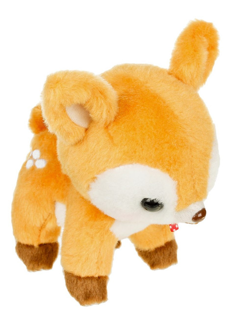 Amuse Brown Deer Plush Keychain