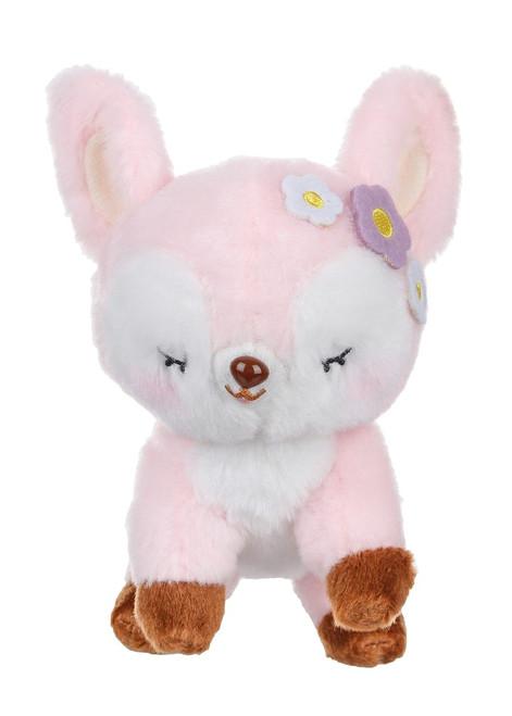 Amuse Pink Deer Plush Keychain