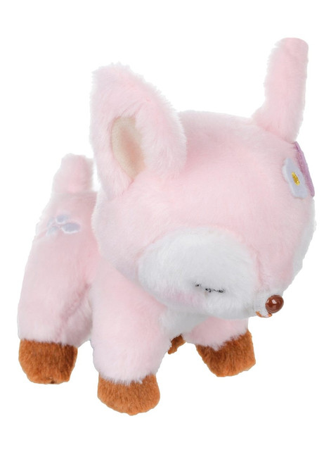 Amuse Pink Deer Plush Keychain