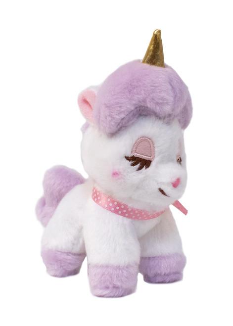 Amuse Unicorn Purple Plush Keychain