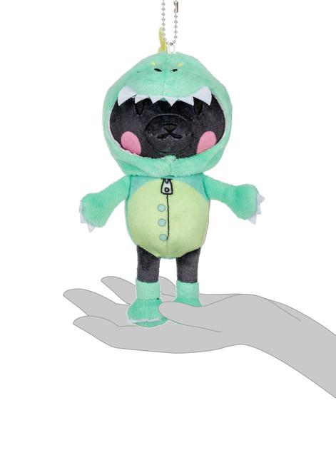 Kittygurumi Gertrude Dinosaur Plush Stuffed Keychain