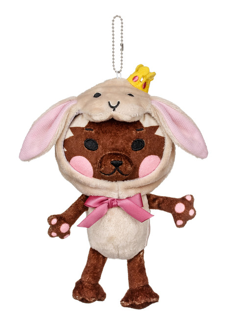 Kittygurumi Florence Rabbit Plush Stuffed Keychain