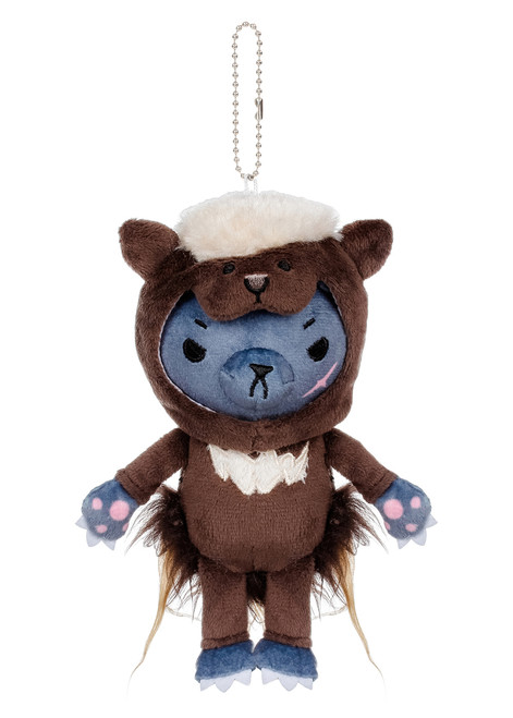 Kittygurumi Mildred Porcupine Plush Stuffed Keychain