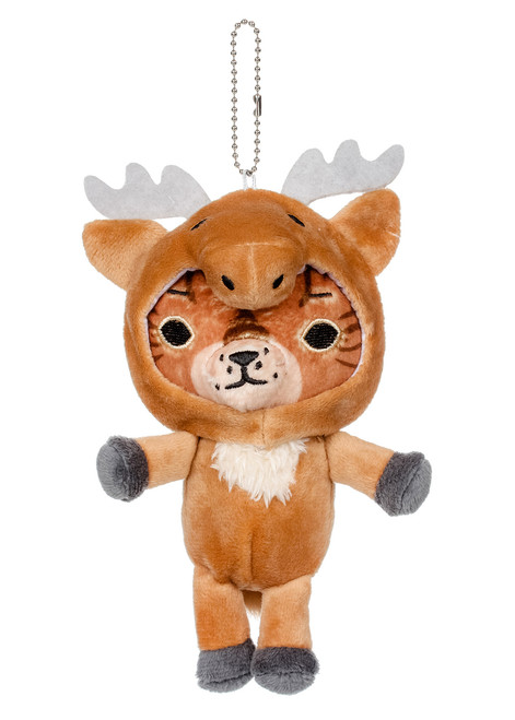 Kittygurumi Gladys Moose Plush Stuffed Keychain